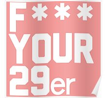 I love 29ers Poster