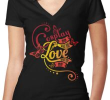 Do what you love. Cosplay Women's Fitted V-Neck T-Shirt