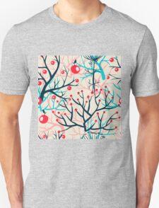 apples berries branch seamless ornament T-Shirt