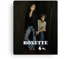 Roxette 2016 by bas Canvas Print