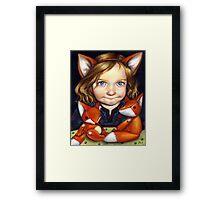 Fox Clan Framed Print