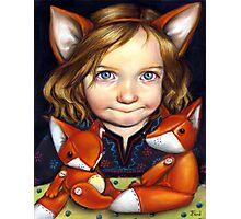 Fox Clan Photographic Print