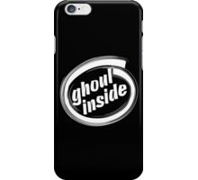 GHOUL INSIDE - solid white iPhone Case/Skin
