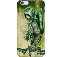 Green men ( Arrow ) iPhone Case/Skin