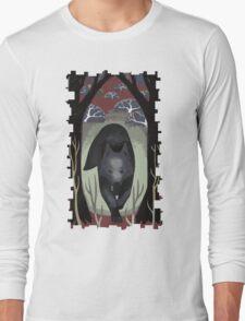 Wolf Tarot Card Long Sleeve T-Shirt