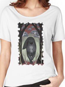 Wolf Tarot Card Women's Relaxed Fit T-Shirt