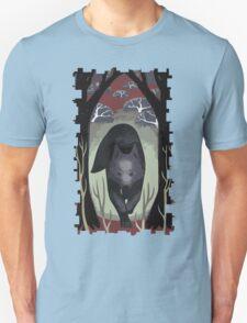 Wolf Tarot Card T-Shirt