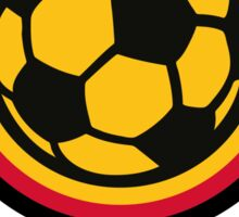 Football coat of arms of Germany Sticker