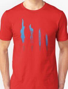Flames of Science (Bunsen Burner Set) - Blue T-Shirt
