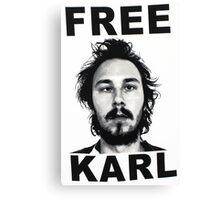 Free Karl Canvas Print