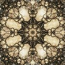 Lacy Mosaic - Fractal Art by Maria Forrester