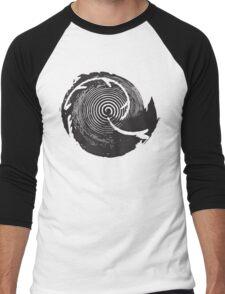 The Twilight Zone : BW // DJ Men's Baseball ¾ T-Shirt