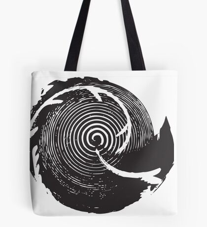The Twilight Zone : BW // DJ Tote Bag