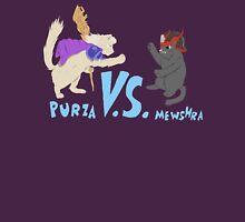 Purza v.s. Mewshra Unisex T-Shirt