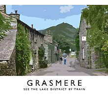 Grasmere (Railway Poster) by Andrew Roland