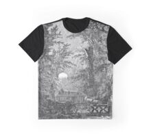 The Atlas of Dreams - Color Plate 4 b&w version Graphic T-Shirt
