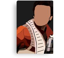 Best Pilot in the Resistance Canvas Print