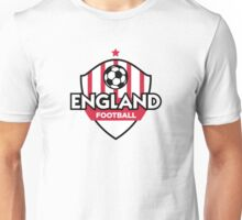 Football coat of arms of England Unisex T-Shirt