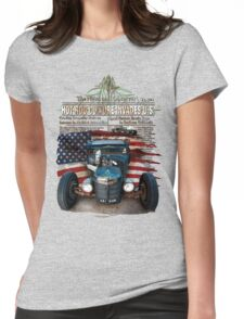Hot Rod Invasion © Womens Fitted T-Shirt