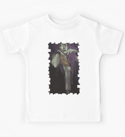 Morrigan Tarot Card Kids Tee