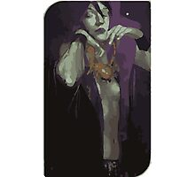 Morrigan Tarot Card Photographic Print