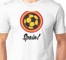 Football coat of arms of Spain Unisex T-Shirt