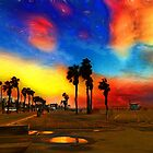 Sunset of The First El Niño Storm by David Rozansky