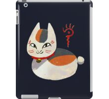 Nyanko-sensei iPad Case/Skin