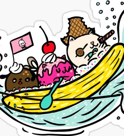 Banana Pirates Sticker
