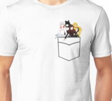 Team RWBY Pocket Characters Unisex T-Shirt