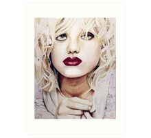 Courtney Love Art Print