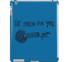 fallen for you iPad Case/Skin