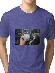 SNOWBALLS AND WATERFALLS  Tri-blend T-Shirt