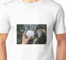 SNOWBALLS AND WATERFALLS  Unisex T-Shirt