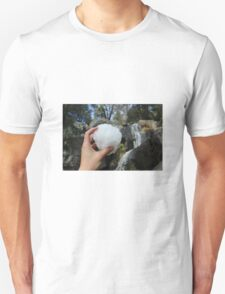SNOWBALLS AND WATERFALLS  T-Shirt