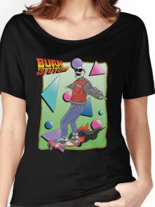 Burn to the Future  Women's Relaxed Fit T-Shirt