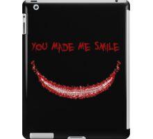 You Made Me Smile (The Joker) iPad Case/Skin
