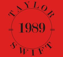 Taylor Swift 1989 - BW Kids Clothes