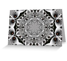 Ceramica - Fractal Art Greeting Card