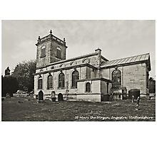 St Mary the Virgin Church, Ingestre Photographic Print