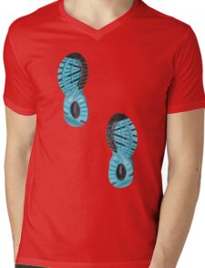 Running shoes Mens V-Neck T-Shirt