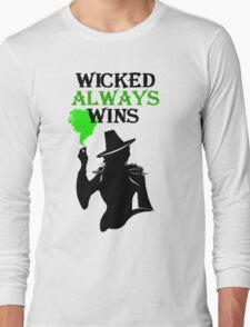 Wicked Always Wins! Zelena T-Shirt. Long Sleeve T-Shirt