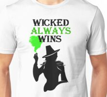 Wicked Always Wins! Zelena T-Shirt. Unisex T-Shirt