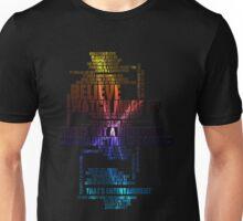 u2 zootv quotes Unisex T-Shirt