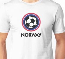 Football coat of arms of Norway Unisex T-Shirt