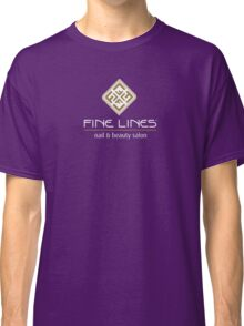 Fine Lines Nail and Beauty Salon Classic T-Shirt