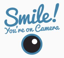 Smile you're on CAMERA! One Piece - Long Sleeve