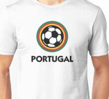 Football coat of arms of Portugal Unisex T-Shirt