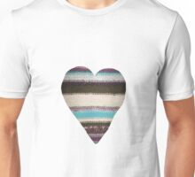 Made With Love Heart Unisex T-Shirt