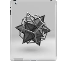 Caged Stellated Dodecahedron iPad Case/Skin